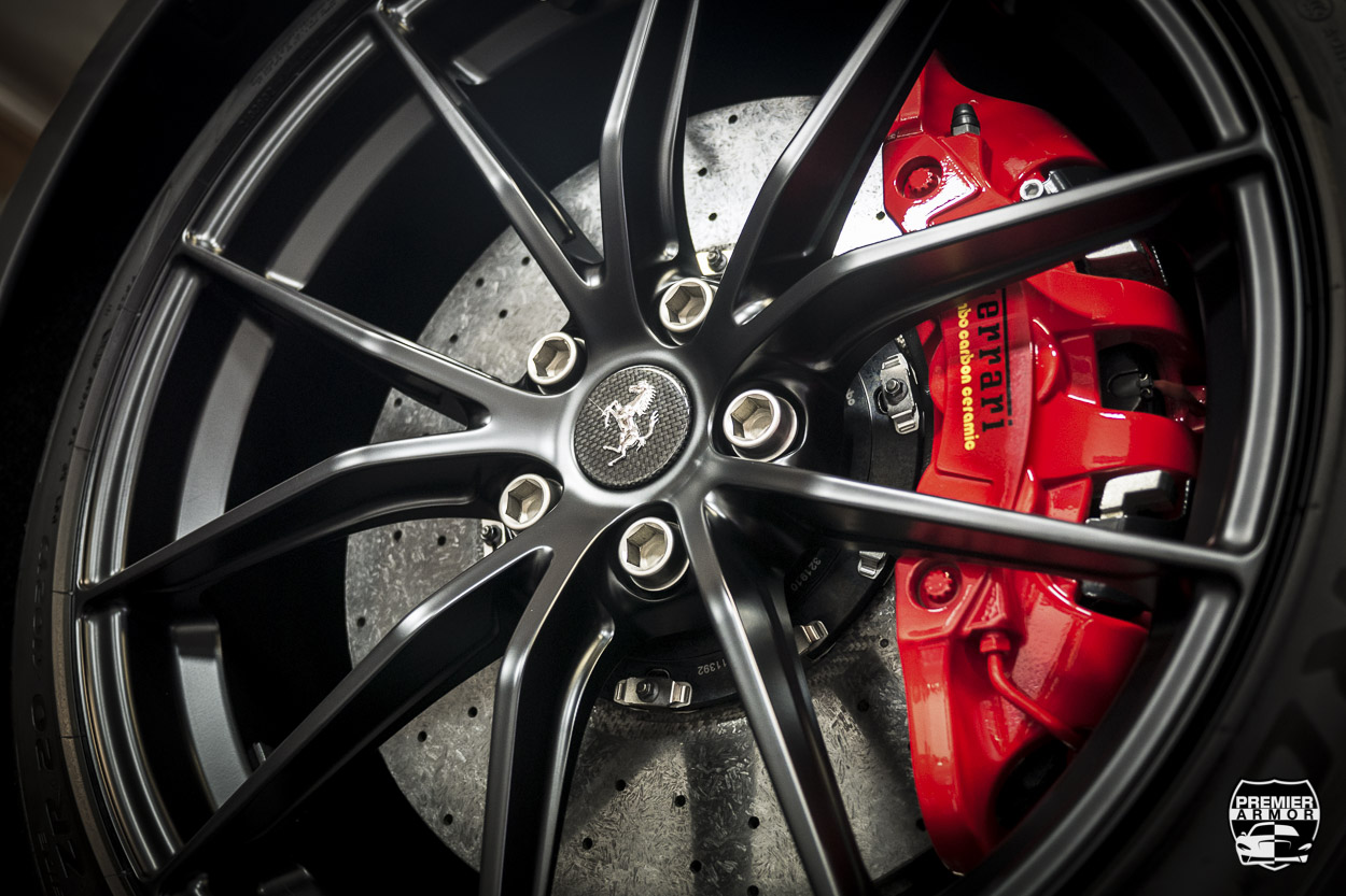 Ferrari Wheel Ceramic Coated