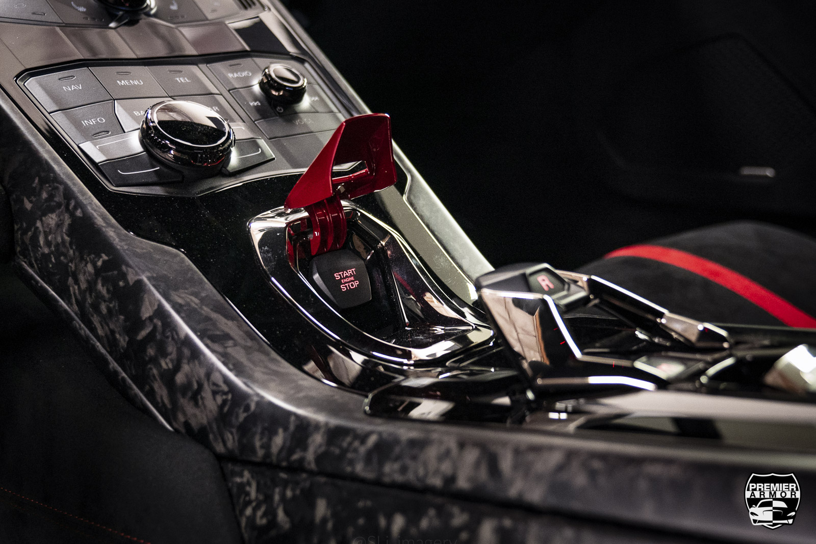Lamborghini Center Console