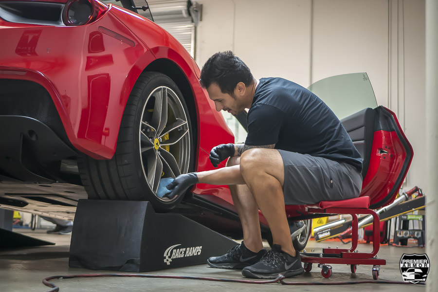 Ceramic Pro for Wheels in Corona, California
