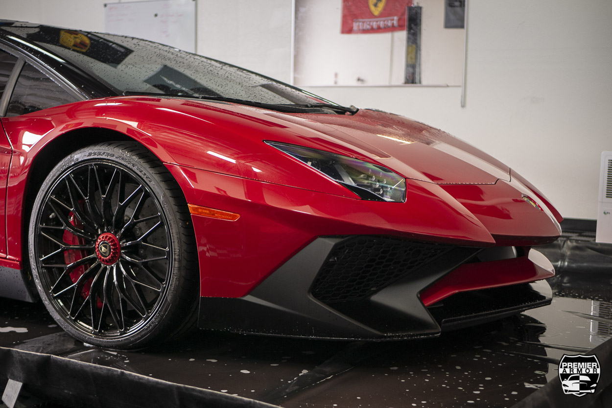 Lamborghini Aventador SV XPEL Paint Protection Film